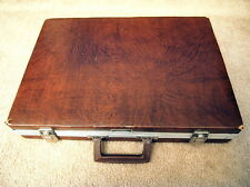 Vintage SAVOY 60 Cassette tape Travel Storage Case with 60 Tapes