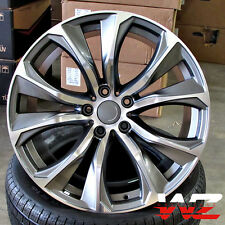 "20"" Rims 451 Style fits BMW X5 X6 X5M X6M xDrive Gunmetal Machined Wheels 5X120"