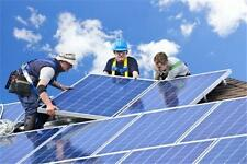 Solar Panel Installation Contractor Business MARKETING PLAN MS Word / Excel