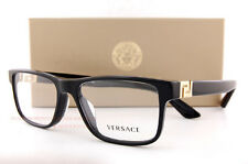 Brand New VERSACE Eyeglasses Frames 3211 GB1 BLACK for Men 100% Authentic SZ 55