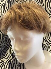 Paula Young Wig Topper Clip On Women's Short Wavy Light Brown No2