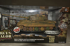 Early, rare forces of valor 1:32 scale. GERMAN KING TIGER TANK, Normandy 1944