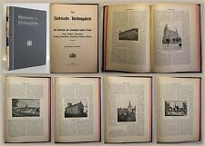 Buchwald: Neue Sächsische Kirchengalerie - Ephorie Pegau (um 1900) - Sachsen -xz