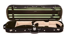Brand New Tonareli 4/4 Violin Hard Oblong Case Olive