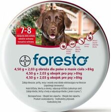 Foresto / Seresto Bayer Flea & Tick Collar 70cm for Large Dogs over 18lbs (8Kg)
