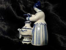 Porcelaine russe cuisinière cafetière cooking russian porcelain Hand made