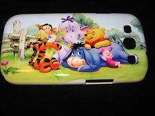 Pooh & Friends Hard Cover Case for Samsung S3  Piglet Tigger Eeyore Heffalump