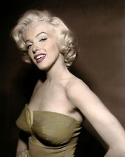 "MARILYN MONROE HOW TO MARRY A MILLIONAIRE 1953 8x10"" HAND COLOR TINTED PHOTO"