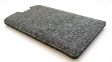 "Samsung Galaxy Tab S2 8"" grey felt sleeve wallet cover. Laser cut in the UK."
