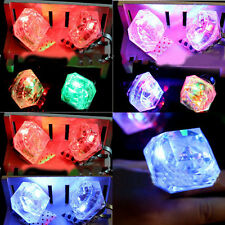 Party Night Accessories Simulated Flashing Diamond Ring Novelty Bride To Be Gift