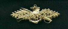 US Navy Officer Seabee Combat Warfare Badge
