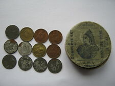 Lauer 1897 boxed set of toy money 12 coins