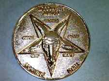Lucifer / Morning Star / Satan / Pentecostal - Copper 3D Prop Coin - 1 1/2""