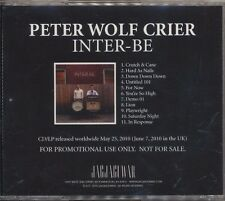 Inter-Be by Peter Wolf Crier (CD 2010 Jagjaguwar) RARE ADVANCE PROMO! SHIPS FREE