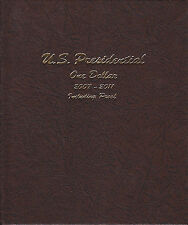 Dansco Album 8184 Presidential Dollar 2007-11 with PROOFS