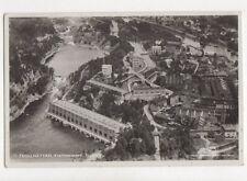 Trollhattan Kraftstationen Flygfoto Sweden 1933 Aerial RP Postcard 787a