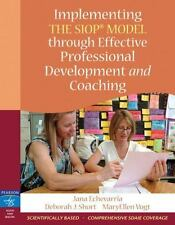 Implementing the SIOP Model Through Effective Professional Development and Coac