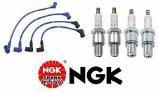 Mazda RX-8 2004 OEM Ignition KIT Spark Plug Wire Set + Set of 4 Spark plugs