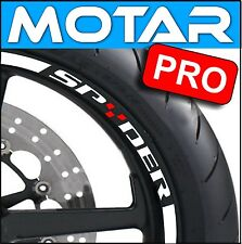 LISERET JANTE STICKER SPYDER CAN AM RIM STRIPES CINTAS pegatinas 40COLORS