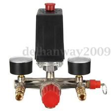 Single Phase Compressor Pressure Switch Air Valve Press Gauge Control Relief