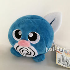 Pokemon GO Plush Poliwag #060 Blue Tadpole Soft Toy Stuffed Animal Doll Teddy 5""
