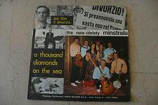 """NEW CHRISTY MINSTRELS""""IL DIVORZIO-disco 45 giri MIURA 1970 SOUNDTRACK""""RARE"""
