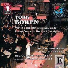 York Bowen PIANO & VIOLIN CONCERTOS - CDLX7169