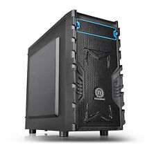 Thermaltake Versa H13 Mini Tower Micro-ATX PC Computer Gaming Case USB 3 Black