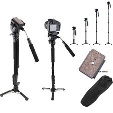 Yunteng C288 Pro Monopod+Fluid Pan Head Ball+DV Unipod for Canon Nikon Camera
