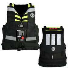 Mustang Universal Swift Water Rescue Vest - Fluorescent Yellow-Green/Black