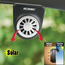 Solar Car Vent Fan Cooler Window Sun Ventilation System Vehicle Auto Truck Van