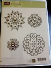 """""""DELICATE DOILIES"""" Stampin'UP! NEW~WOOD unmounted-doilies ~"""