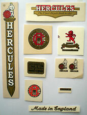 Decals Hercules Vintage Bicycle