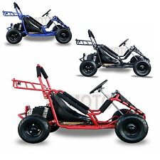 1000W 48V Electric 3 speed Off Road Go Kart for Kids Christmas Gift Free US Post