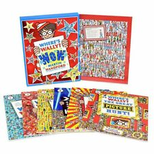 Where's Wally? Wow Collection 6 Large Books and a Jigsaw Gift Box Set