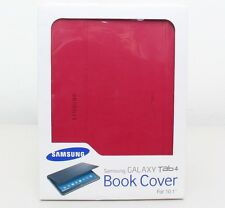 Genuine Samsung Book Folio Folding Cover for Samsung Galaxy Tab 4 10.1 Red New