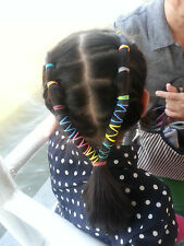 160Pcs Elastic Hair Rubber Band Braid Ponytail Women Girl Doll Dog Multi Color