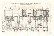 1898 Hms Sphinx Compound Engines Hms Warspite