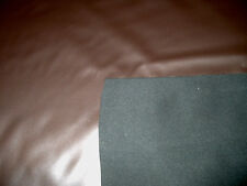 "Shimmery Gray / Brown Vinyl Upholstery Sewing Fabric By the Yard 57"" wide"