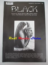 BLACK MAGAZINE 34/2003/04 Laibach Common Dream Eternal Soul Decence Kiew  *No cd
