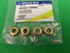 GENUINE SSANGYONG ACTYON SPORTS 4CYL 2.0L DIESEL INJECTOR WASHER SET (4EA)