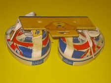 New BUILD-A-BEAR Accessory UNION JACK HITOP SHOES Blue Red UK 1st Ed. England
