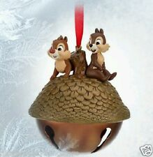 DISNEY CHIP AND DALE TREE NUT CHRISTMAS SKETCHBOOK ORNAMENT HTF NEW WITH TAGS