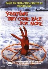 SOMETIMES THEY COME BACK FOR MORE - S KING - NEW DVD