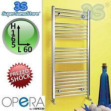 3S SCALDASALVIETTE TERMOARREDO DESIGN CROMATO 165x60 cm OPERA ERCOS CROMO NUOVO