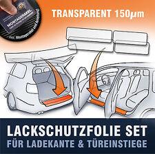 Lackschutzfolie SET (Ladekante Einstiege) passend für VW Touran (1T) transparent