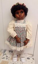 Flossie Donna Rubert Bisque Doll Bambola in porcellana fatta a mano   63 CM