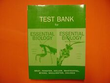 Test Bank for Essential Biology 3e & Essential Biology with Physiology 2e