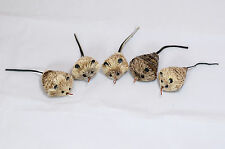 5 CAT CATCHER mouse refill cat toy toys mice attachment