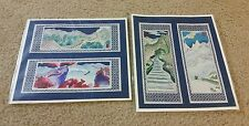 CHINESE PAPER CUT ART WALL OF CHINA SET 4 PIECES